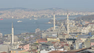 Stock Video Footage of Shipping traffic in Istanbul, Turkey