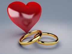 Stock Illustration of gold wedding ring