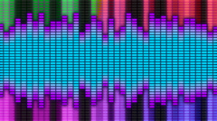 Colorful Equalizer 06 Stock Footage