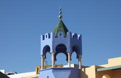 Tunisian traditional roof - stock photo