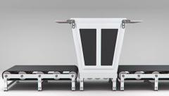 Empty conveyor convector  animation Stock Footage