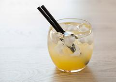 cold cocktail - stock photo