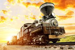 southwest train spirit - stock photo