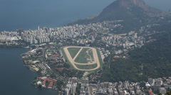 View Rio from Cristo Stock Footage