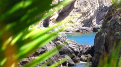 Hidden bay, Stock Video footage, Static Camera, HD 1080p, 25 fps - stock footage