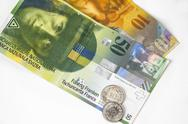 Stock Photo of Swiss money