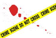 Stock Illustration of crime scene do not cross