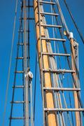 Ship rigging Stock Photos