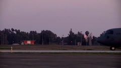 Incirlik Turkey airbase operations Stock Footage