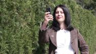 Stock Video Footage of Taking Picture With Mobile Phone