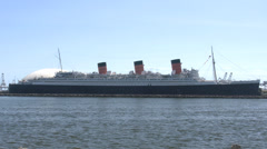 4K Queen Mary Stock Footage
