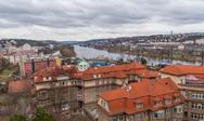 Stock Photo of prague panorama view from vysehrad