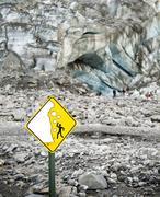 Franz Joseph Glacier - stock photo