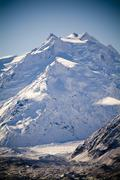 Glacial Mountains - stock photo