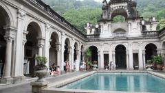 Parque lage Stock Footage