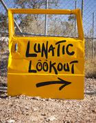 Lunatic Lookout - stock photo