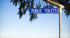Public Toilets Stock Photos
