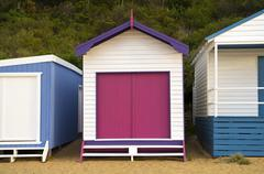 Bathing Boxes Stock Photos