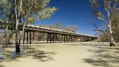 Darling River, Australia Stock Photos