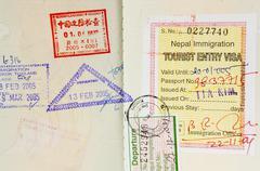 Passi Postimerkit Taustaa Kuvituskuvat