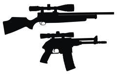 Sniper Stock Illustration