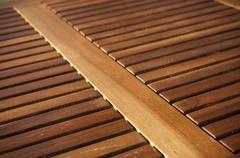 Timber Slats Stock Photos