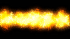 Explosion Line 3 Effects PNG+Alpha Stock Footage