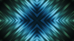 Stock Video Footage of Blue Green X Cross Loop