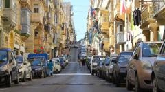Street scene Stock Footage