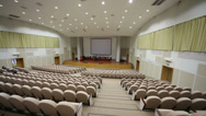 Stock Video Footage of Auditorium in Federal State Statistics Service of Russia