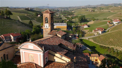 Church in Italy Stock Footage