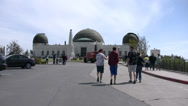 Stock Video Footage of 4K Griffith Park Observatory