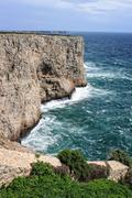 Rocky Algarve, Portugal coastline Stock Photos