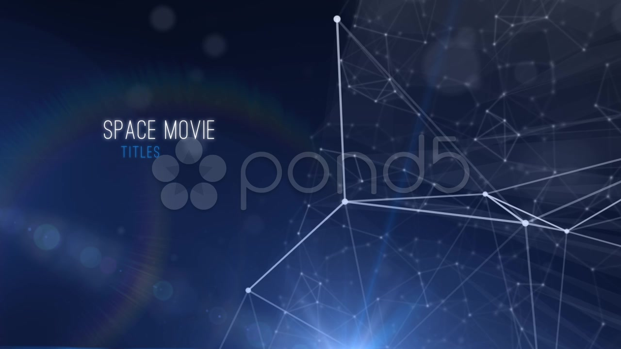 After Effects Project - Pond5 Space Move Titles 37658473
