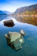 Upper Lake in Glendalough Stock Photos