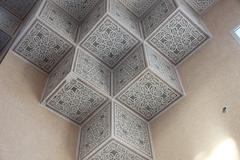 Tunisian traditional Arabic ornament Stock Photos