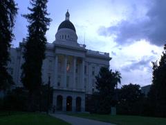 Sacramento Captiol - stock footage