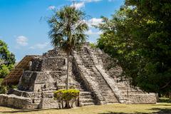 Chacchoben Mayan Ruins I - stock photo