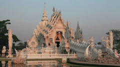 White Temple Stock Footage