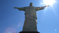 Cristo, Christ, Christus Rio de Janeiro Stock Footage