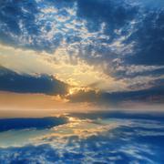 Heavenly landscape Stock Photos