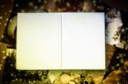 Stock Illustration of photo album with copy space