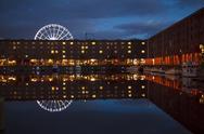 Stock Photo of Liverpool Albert Dock