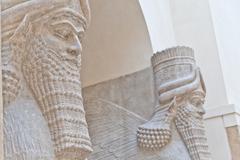 Mesopotamian art Stock Photos