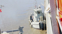 Army Tugboats in JLOTS 2014 Stock Footage
