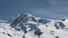 Glacier clouds timelapse Stock Footage