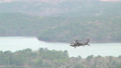 Arkansas Aviation Unit Conducts Training at Pinnacle Mountain Stock Footage