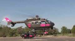 2014 California National Guard and Cal Fire Joint training exercise Stock Footage