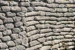 background of sandbags in trench of death - stock photo