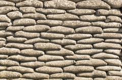 Background of sandbags in trench of death Stock Photos